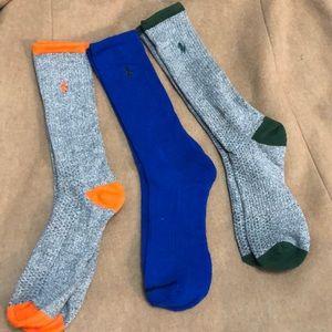 Polo Ralph Lauren 3 Pack Qtr Socks 🧦 Sz 7-10.5